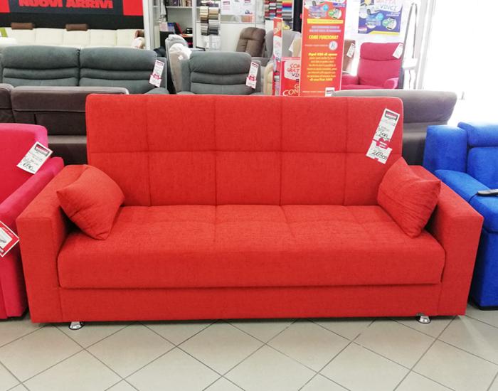 Outlet divani cossato il nuovo punto vendita dedicato ai divani - Divano letto click clack ...